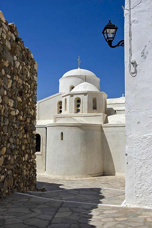 Church in Naxos Town.