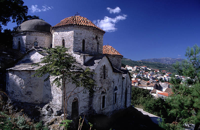 Church in Old Samos Town Dated 1799.(c)