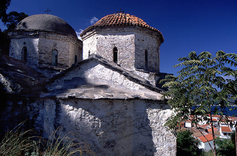 Church in Old Samos Town Dated 1799.(d)