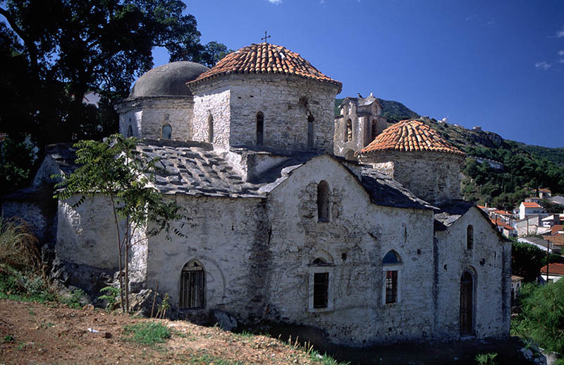 Church in Old Samos Town Dated 1799.(f)