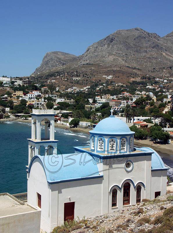 Church near Kantouni Beach. (a).