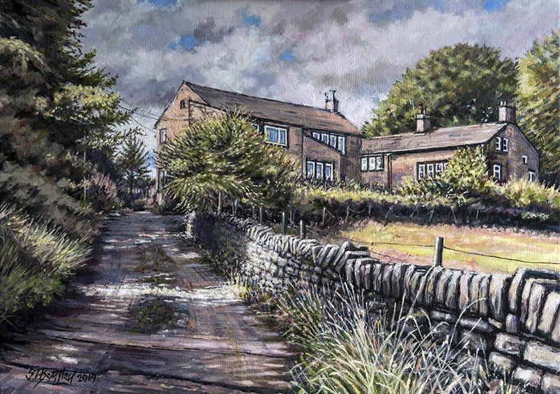 Cottages, Dale Lane Delph