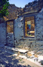 Derelict house in Old Allonissos
