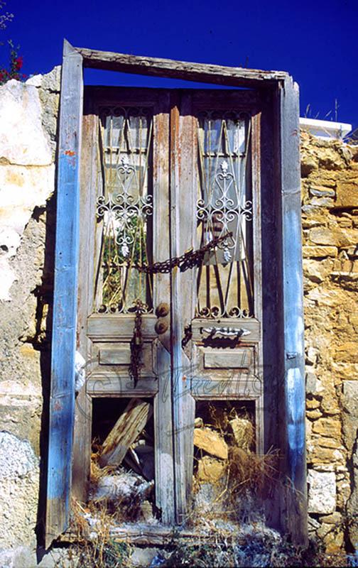 Doorway of a ruin.