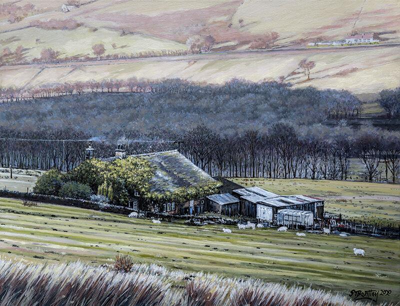 Farmhouse at Dovestone