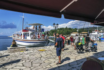 Boat Trip Arrival at Sivota Harbour (a)