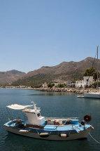 Fishing boat at Livadia