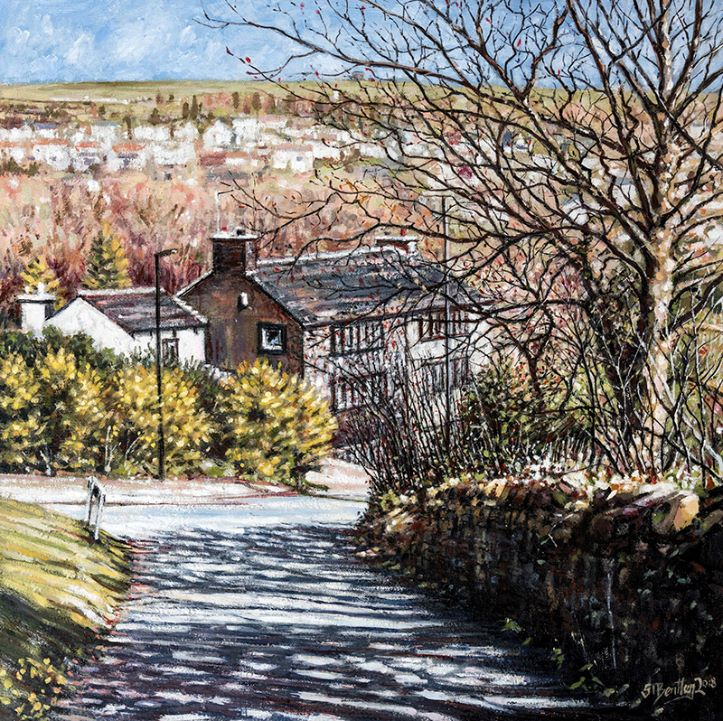 Husteads Lane, Dobcross
