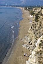 Kalamaki Beach. (d).