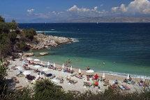 Kassiopi Beach. (a)