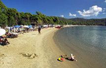 Koukanaries Beach. (a).