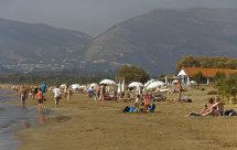 Laganas Beach.
