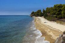 Lagomadra Beach, Sithonia Peninsula.
