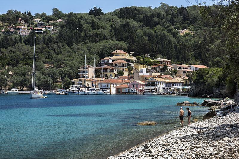 Lakka Bay and Village