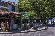 Limenas Town. (a)