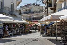 Limenas Town. (b)