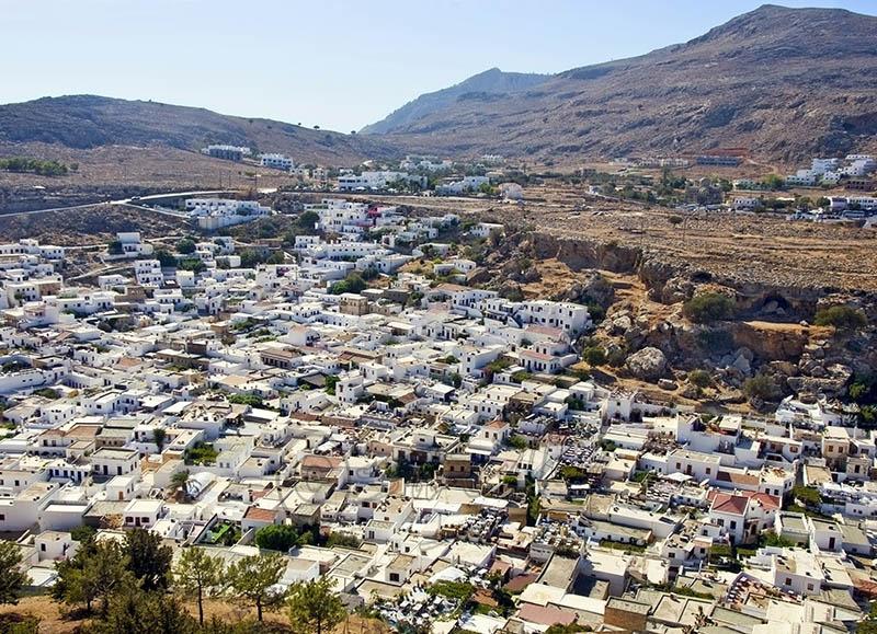 Lindos Village.