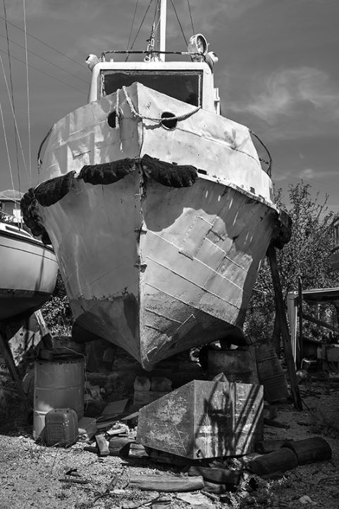 Old Boat in Alonissos.