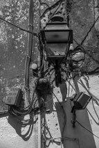Old Street Lamp in Gaios, Paxos
