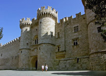 Palace of the Grand Masters in Rhodes Town.