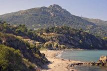 Porto Zoro Beach. (a).