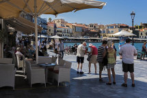 Restaurants at the Port of Old Chania