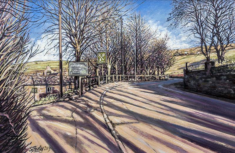 Running Gate Hill, Uppermill Saddleworth