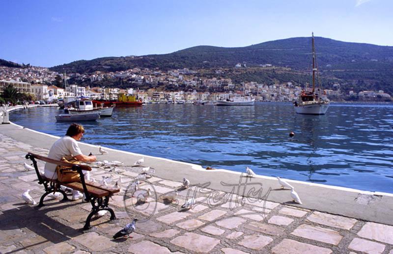 Samos Harbour.