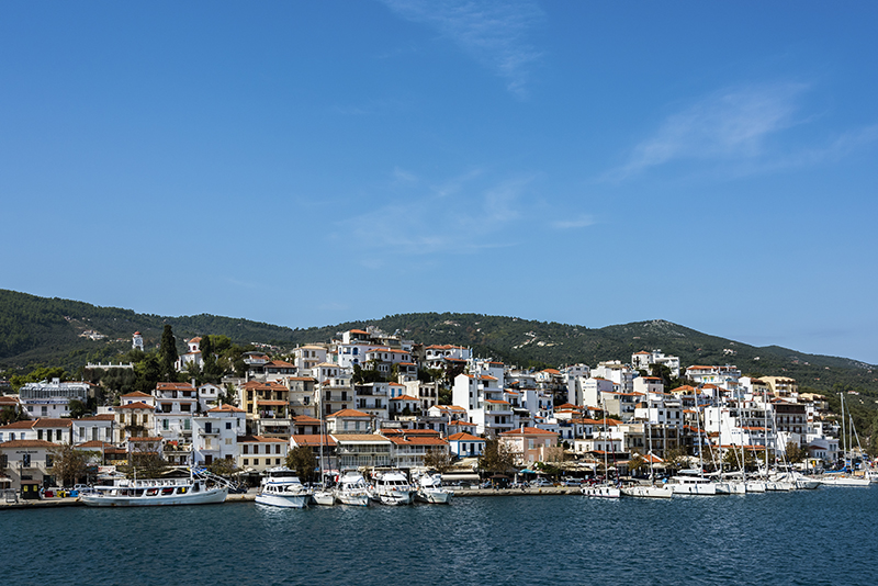 Skiathos Harbour Front