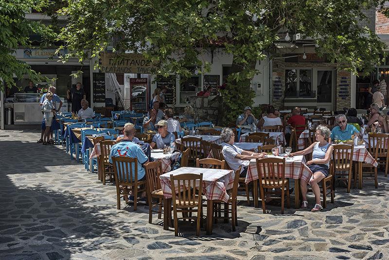 Skopelos Town Square