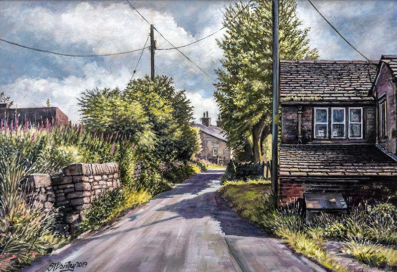 Slackgate Lane, Delph