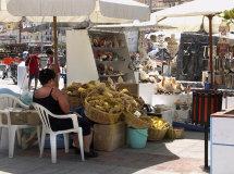 Sponge stall in Pothea Town.