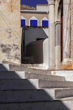 Steps & Church Entrance, Emborio.