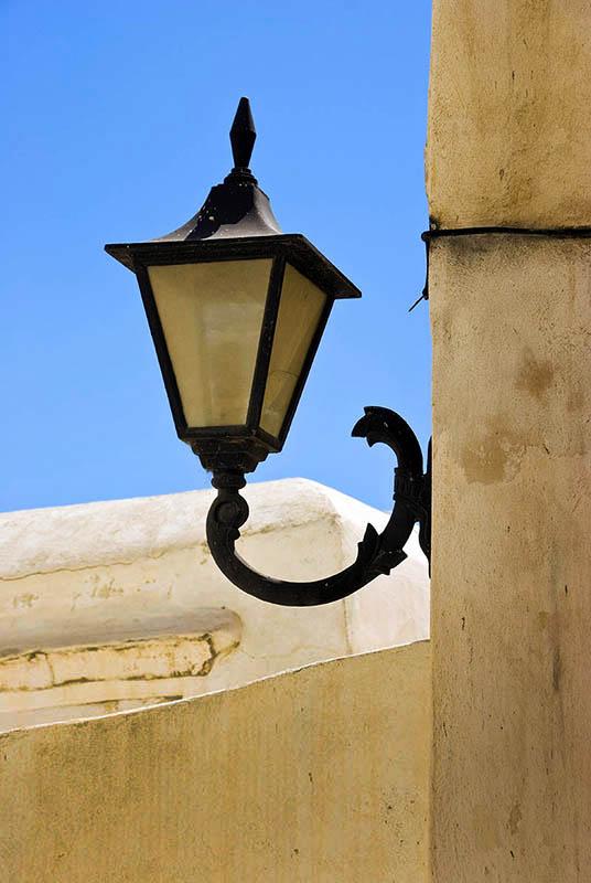 Street Light in Naxos Town