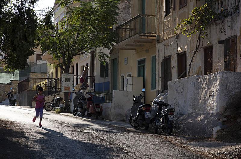 Street in Symi Town