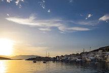 Sunrise on Halki.