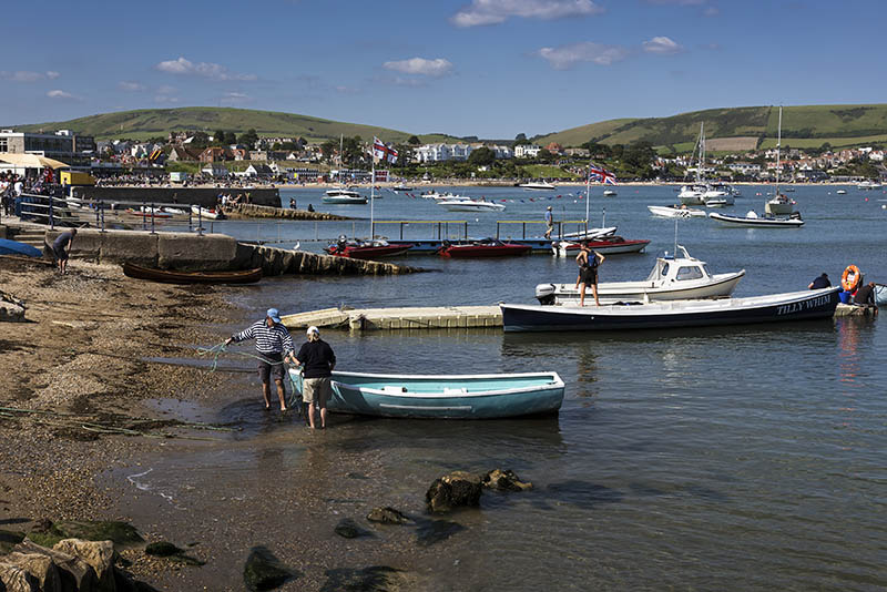 Swanage Bay.