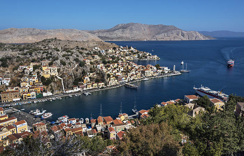 Symi Harbour (b)
