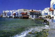 'Little Venice' in Mykonos Town