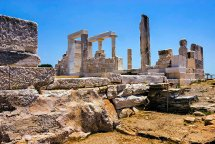 Temple of Dimitras. (b)