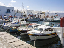 The harbour at Naousaa.