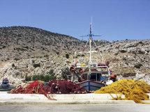 Vathi Harbour. (a).