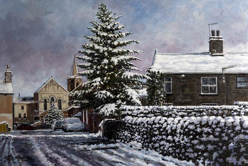 Wade Row, Uppermill