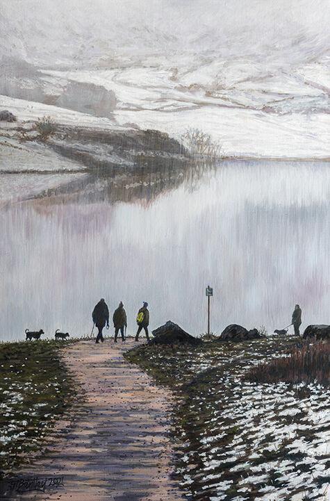 Walking Dogs at Dovestone