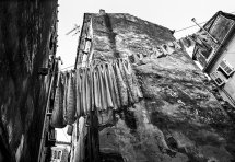 Washday in Corfu Town