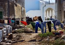 Washday in Naxos Town