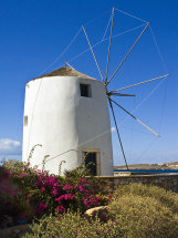 Windmill in Paroikia.