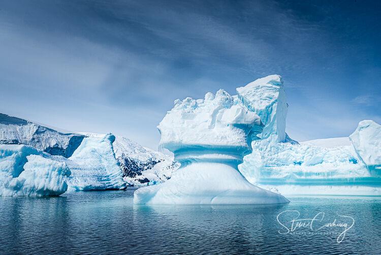 Chess piece iceberg