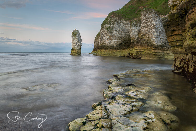 Sunset at Selwicks Bay, Flamborough Head, Yorkshire