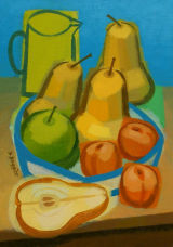 Pears, Apricots and Apple